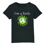 tshirt vegan im little enfant