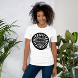 tshirt vegan arrow tad