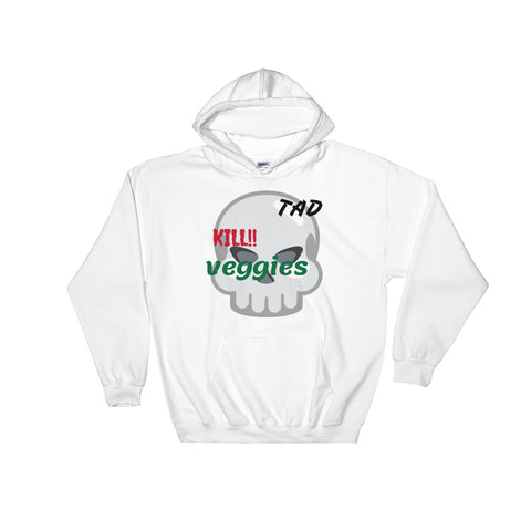 sweat-shirt vegan TAD blanc