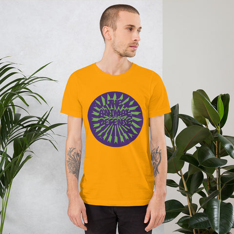 t shirt vegan TAD color arrow orange