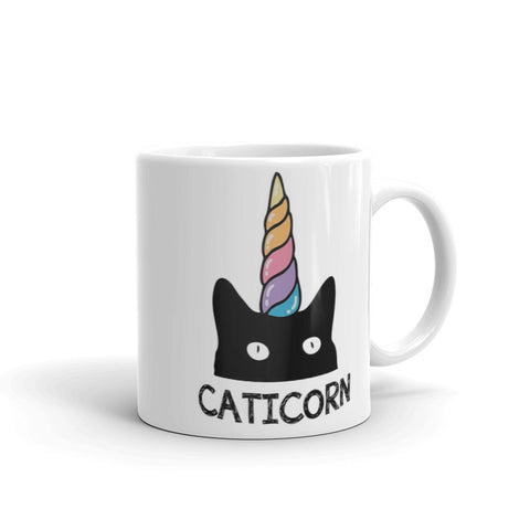 caticorn mug vegan