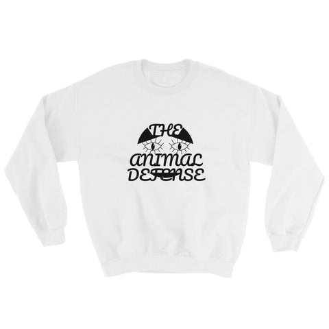 sweatshirt vegan TAD cat blanc