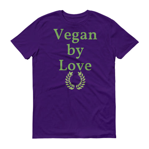 Vegan by Love - tshirt vegan