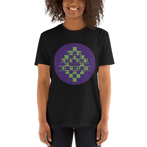 t shirt vegan TAD color pixel noir