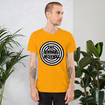 t shirt vegan hypnose homme orange
