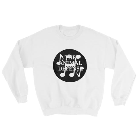 sweatshirt vegan TAD Note blanc