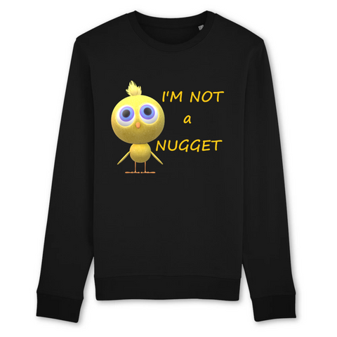 pull vegan noir im not a nugget - collection sweatshirt
