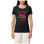 t shirt corrida is crime femme