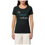 t shirt femme earth needs you