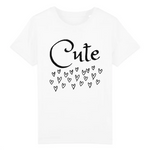 Un tshirt eco blanc pour enfant vegan - tshirt vegan blanc collection