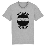 collection tshirt - tshirt vegan ninja gris homme