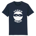 collection tshirt - tshirt vegan ninja marine homme