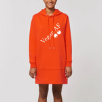 vegan af sweatshirt robe orange