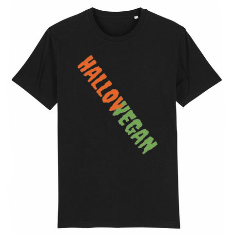 Tshirt vegan hallowegan blanc