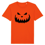scare orange tshirt vegan eco en coton bio