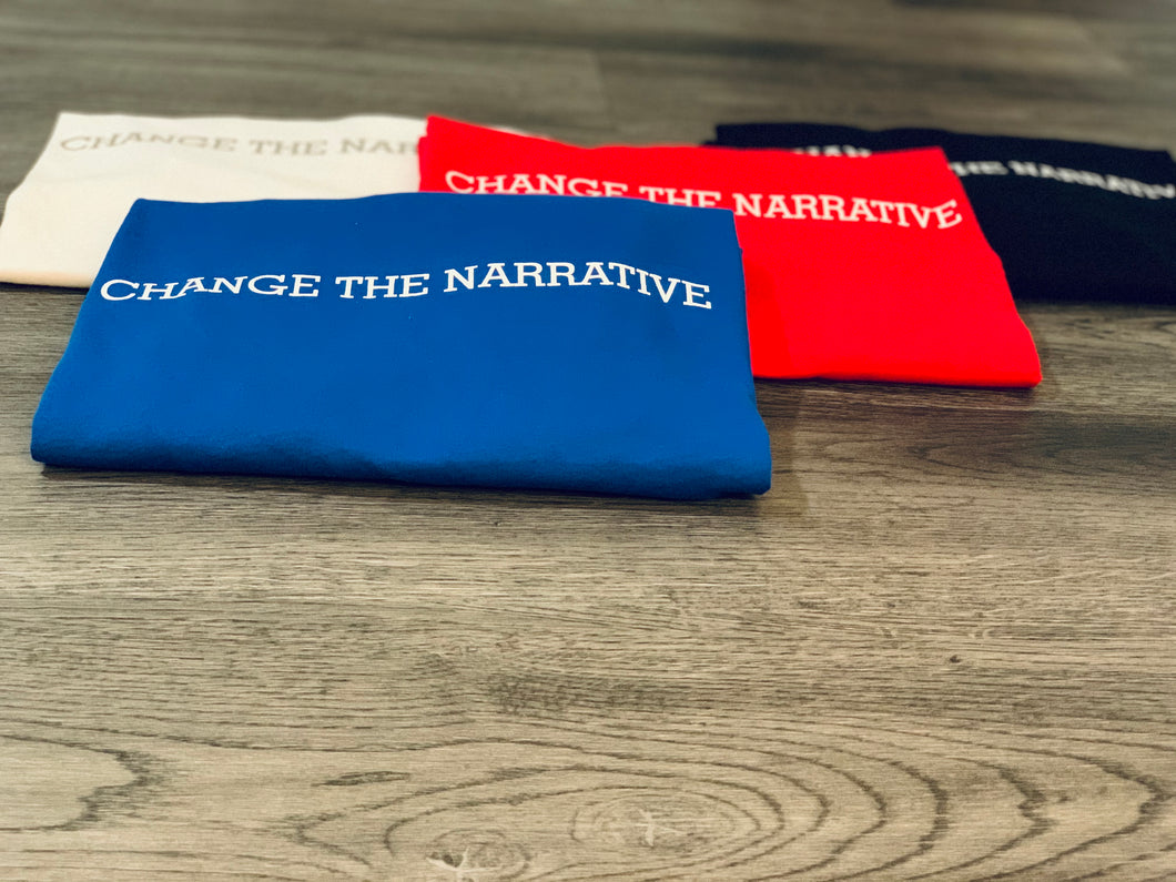 Change The Narrative - Blue