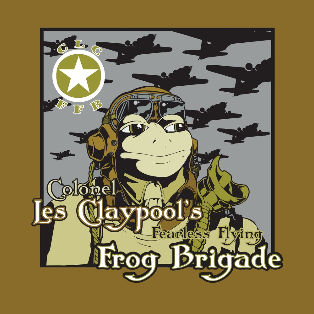 Colonel Les Claypool Frog Brigade - Live Frogs Set 1 & 2 (3LP)(Green)