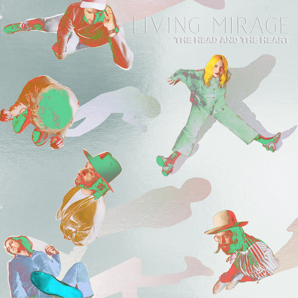 Head And The Heart - Living Mirage (2LP)(Pink)