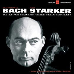 Janos Starker - Bach: 6 Solo Cello Suites (3LP)