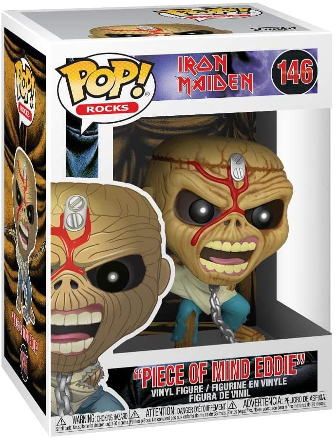 Funko Pop! Rocks - Piece Of Mind Eddie