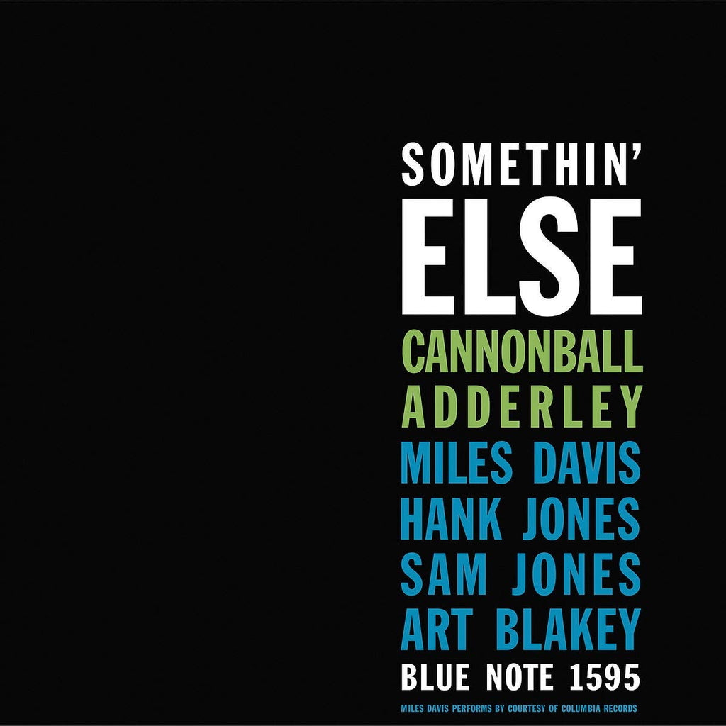 Cannonball Adderley - Somethin' Else (Blue Note Classic)