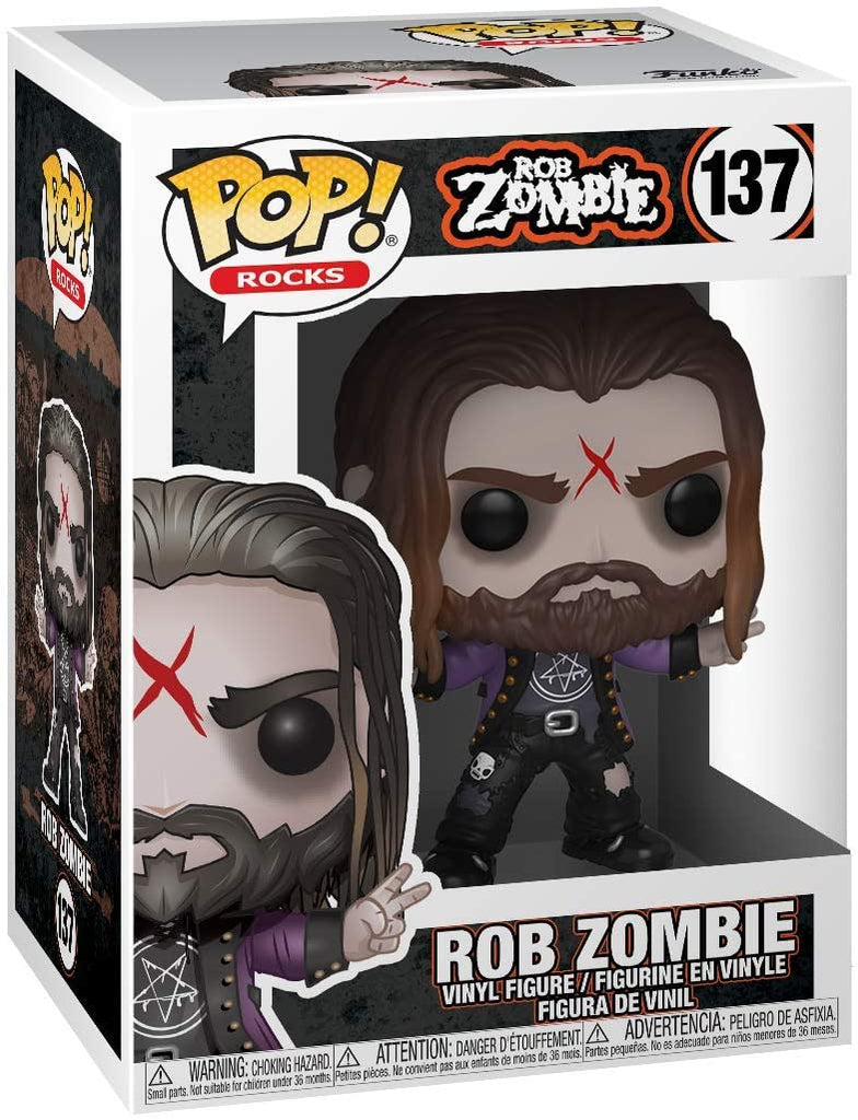 Funko Pop! Rocks - Rob Zombie
