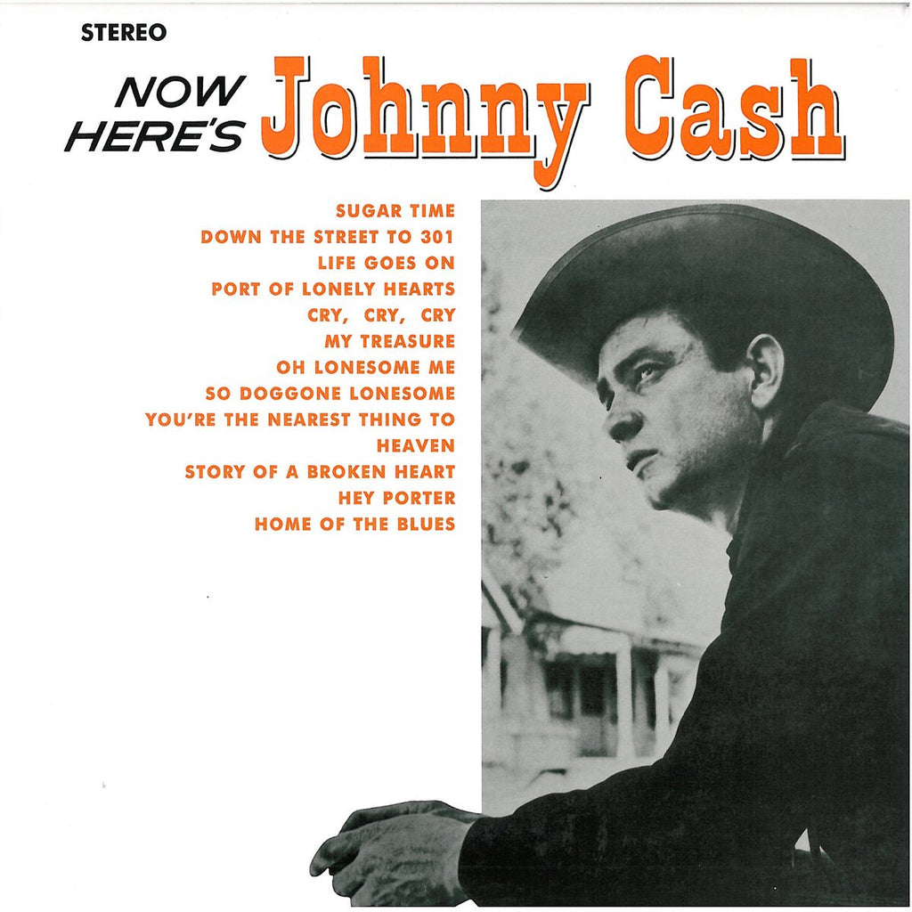 Johnny Cash - Now Here's Johnny Cash (Red)