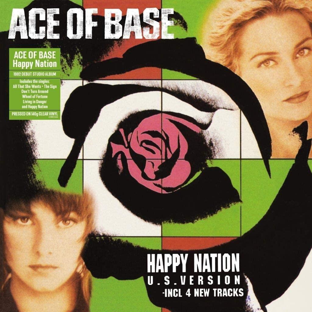 Ace Of Base - Happy Nation (Clear)