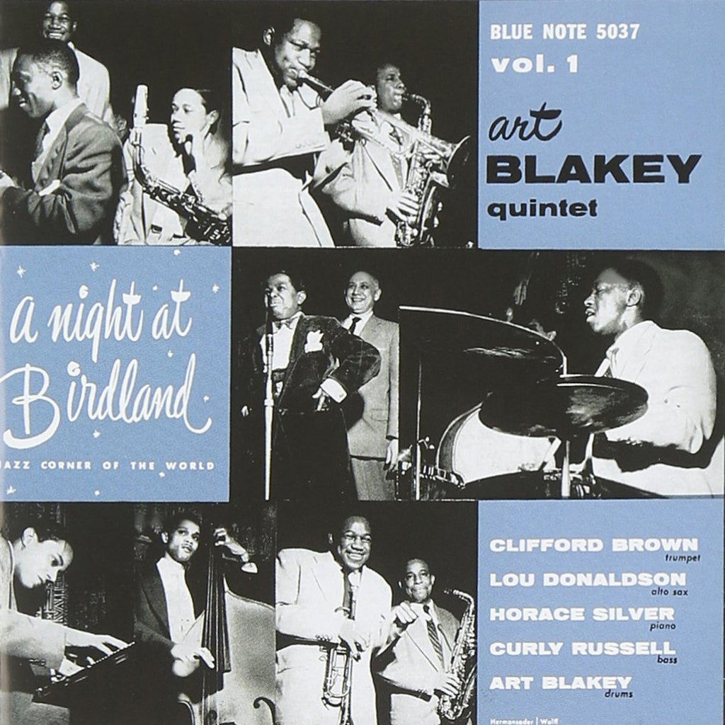 Art Blakey - A Night At Birdland With the Art Blakey Quintet V.1