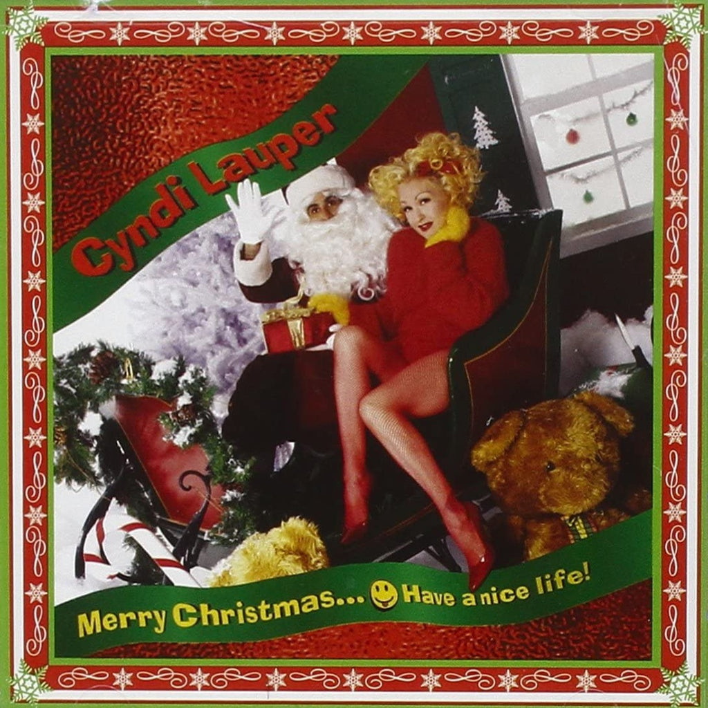 Cindy Lauper - Merry Christmas... Have A Nice Life (Coloured)
