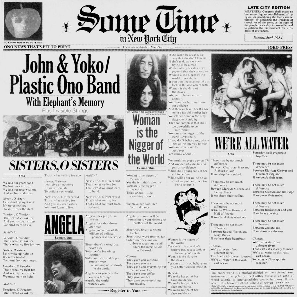 John Lennon - Some Time In New York City (2LP)