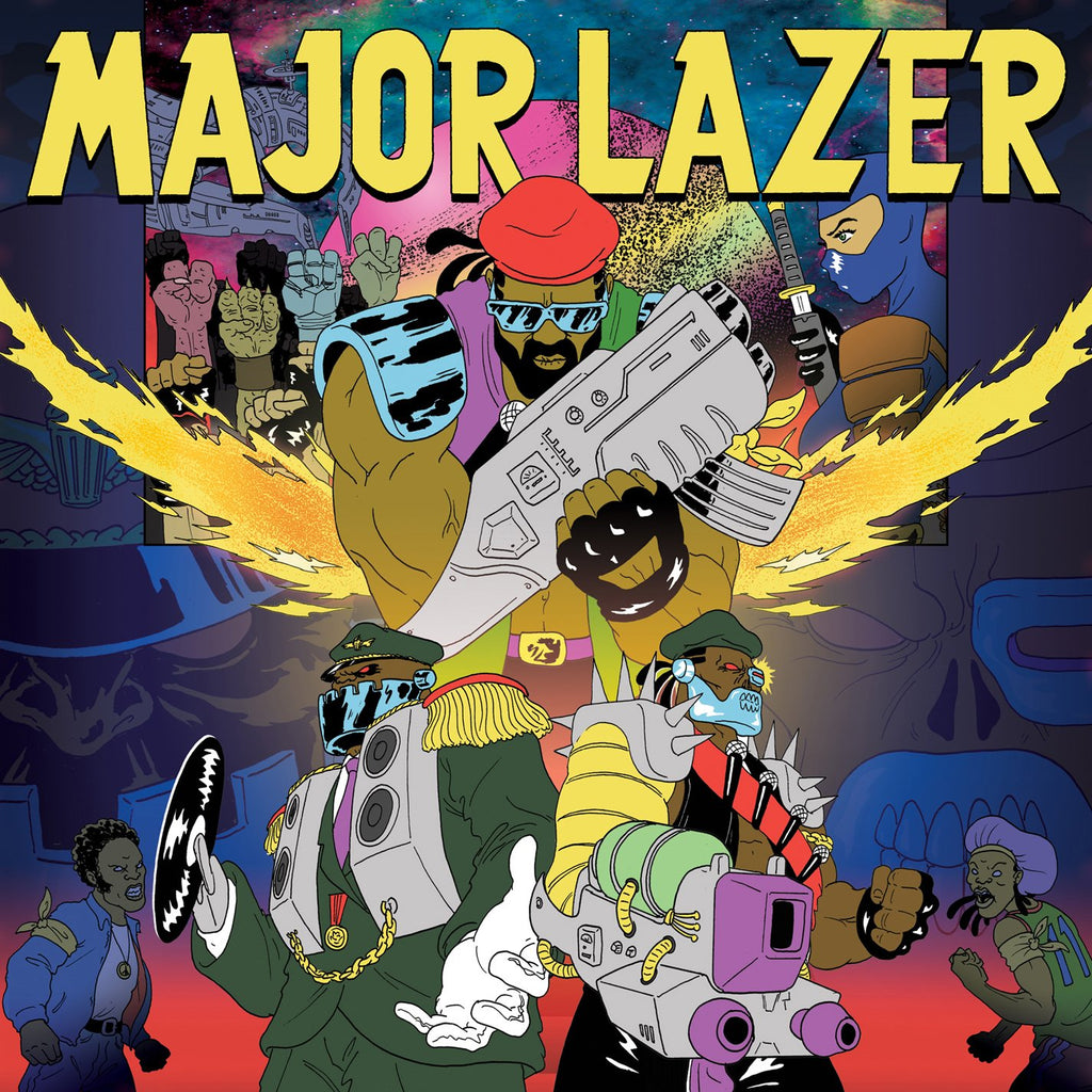 Major Lazer - Free The Universe (2LP)