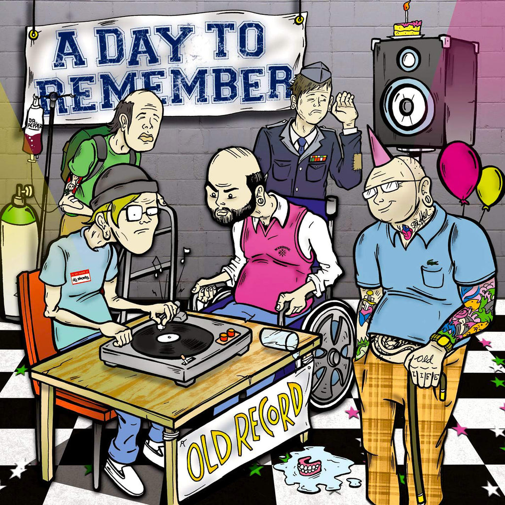 A Day To Remember - Old Record (Coloured)