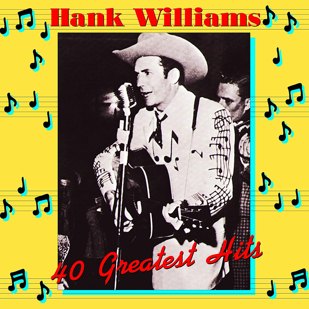 Hank Williams - 40 Greatest Hits (2LP)