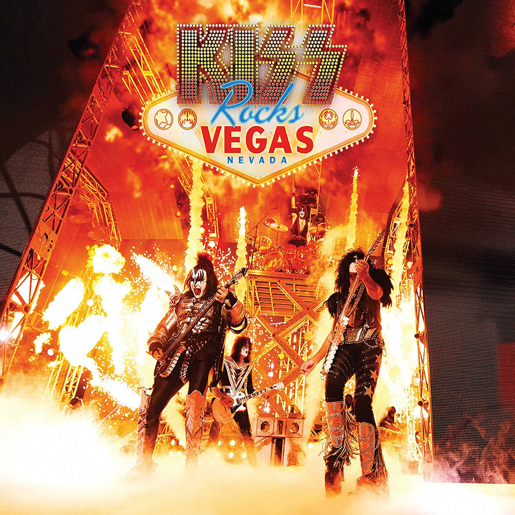 Kiss - Kiss Rocks Vegas (2LP)