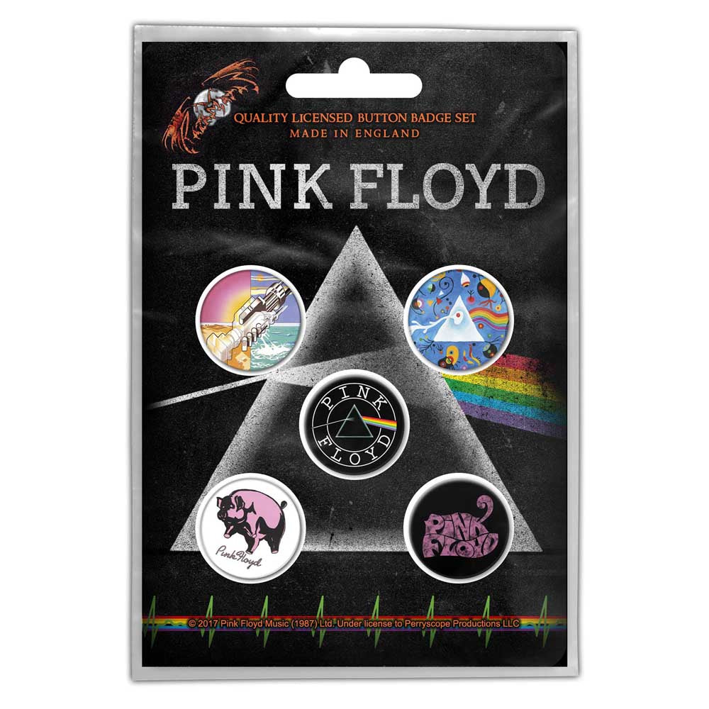 Buttons - Pink Floyd - Prism