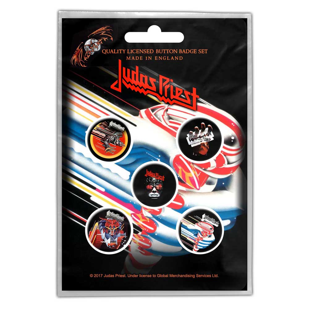 Buttons - Judas Priest - Turbo