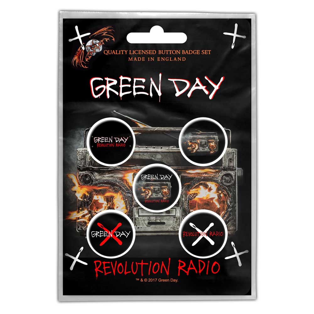 Buttons - Green Day