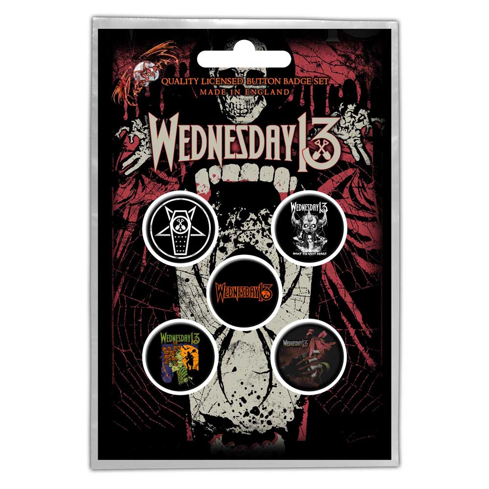 Buttons - Wednesday 13