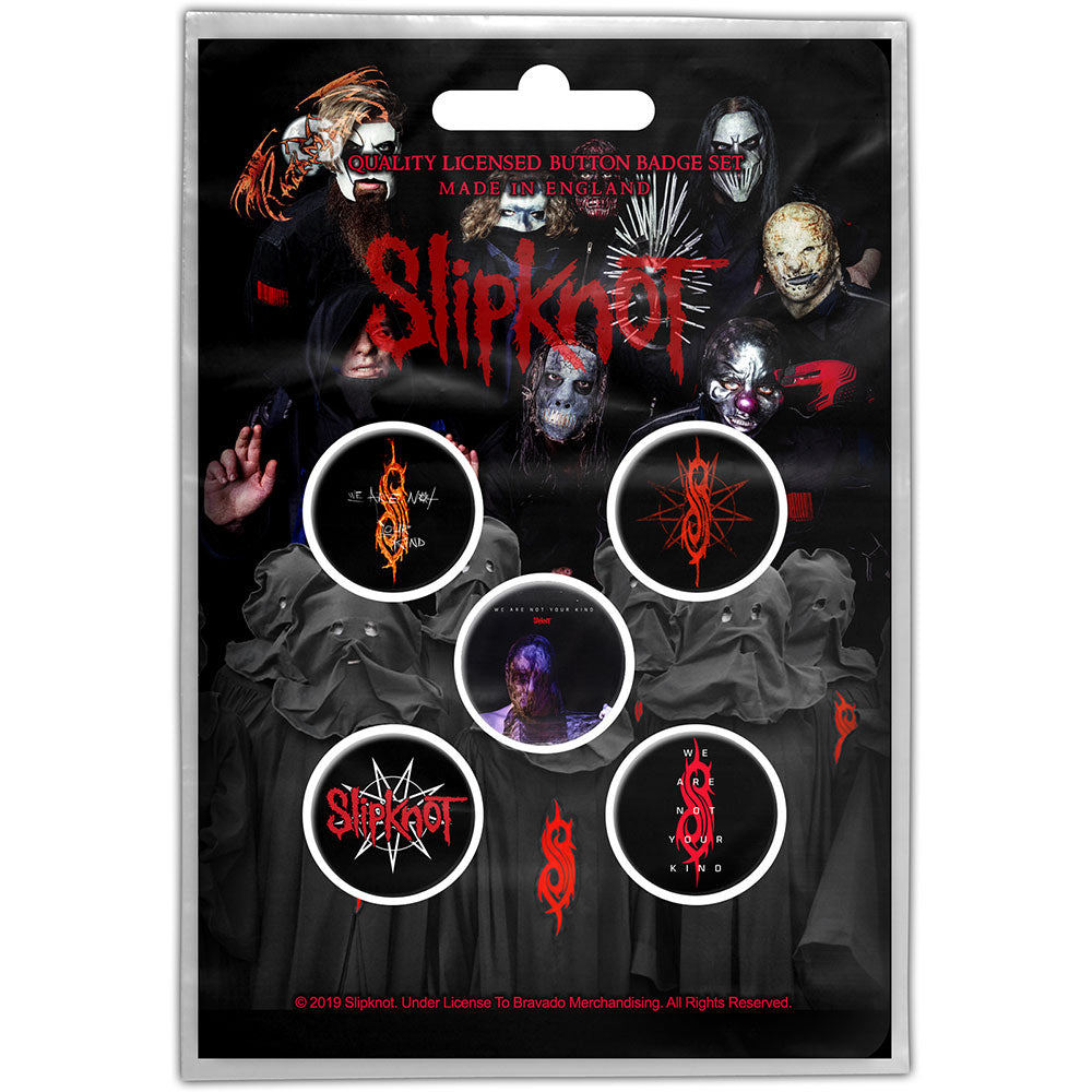 Buttons - Slipknot - We Are Not Your Kind