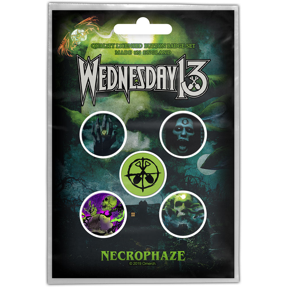 Buttons - Wednesday 13 - Necrophaze