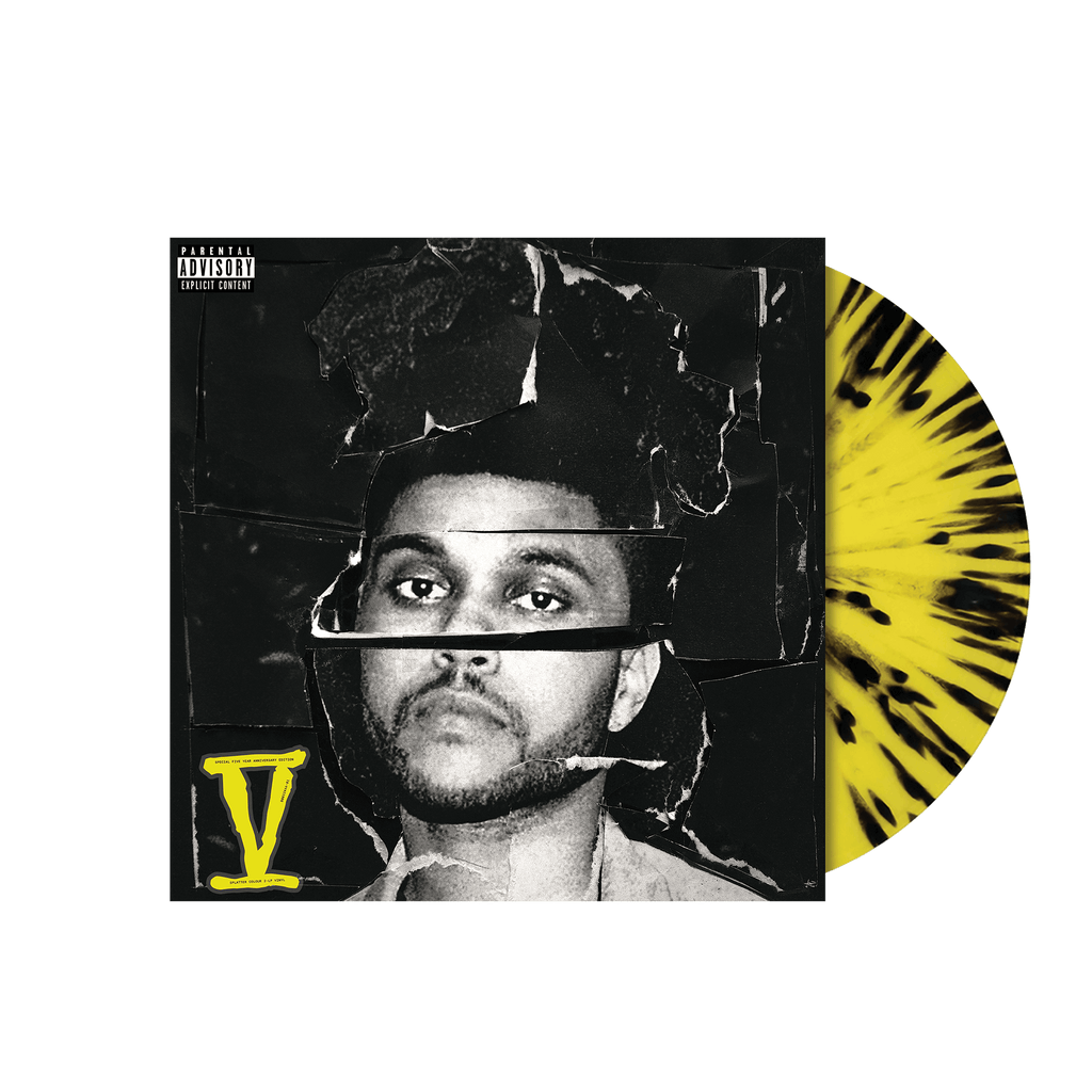 Weeknd - Beauty Behind Madness V (2LP)(Coloured)