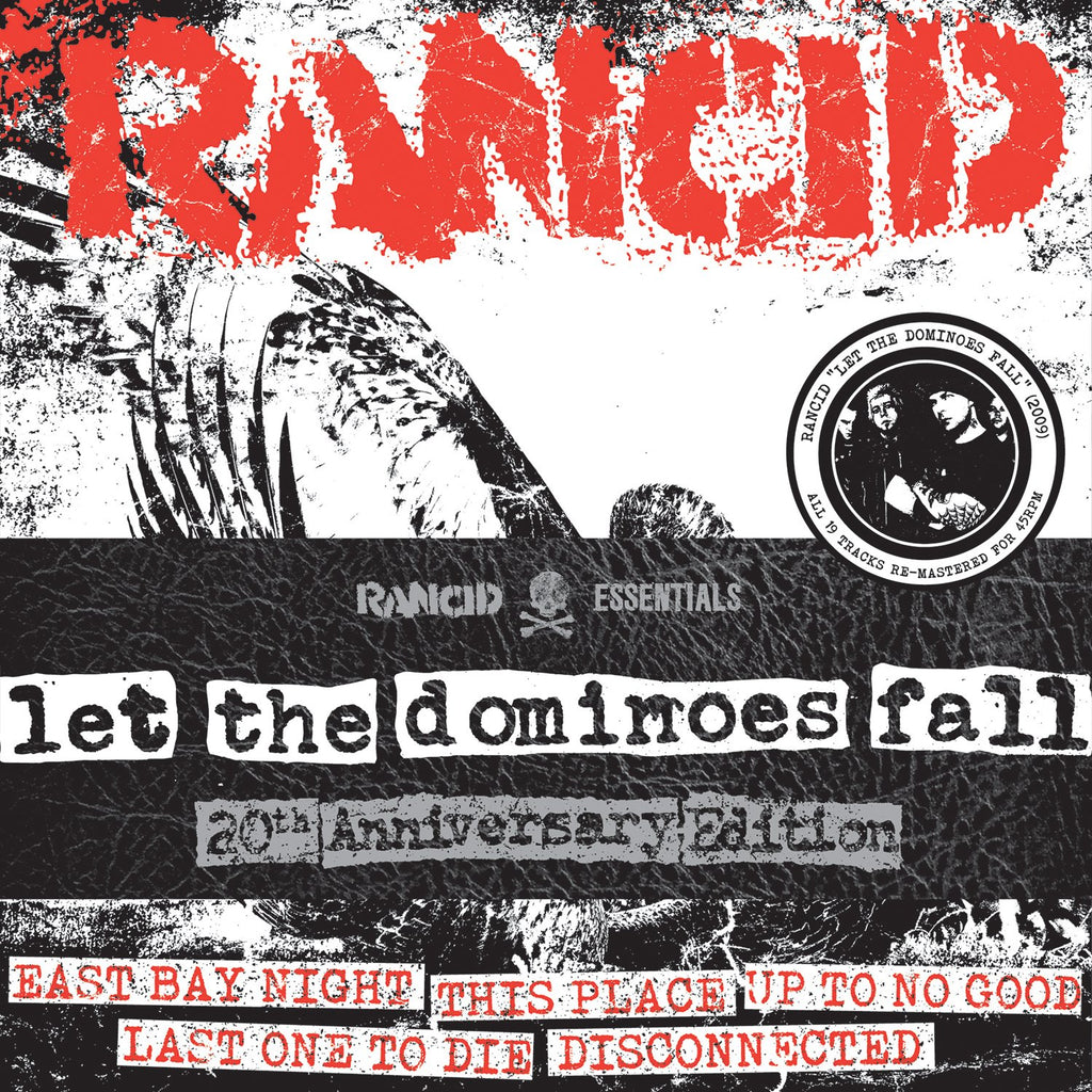 Rancid - Let The Dominoes Fall (Red)