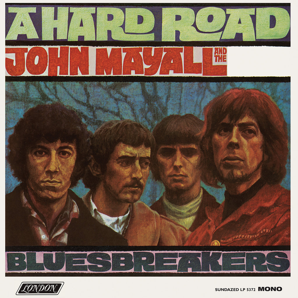 John Mayall - A Hard Road (White)