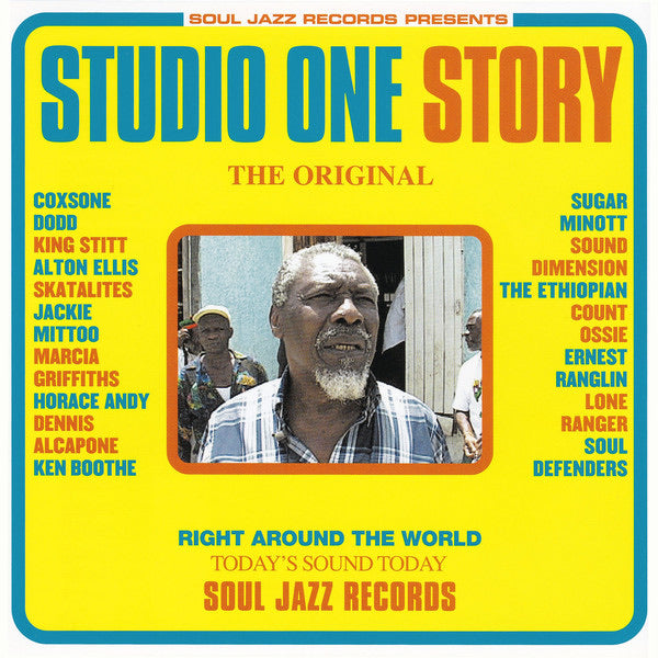 Various Artists - Studio One Story (2LP)