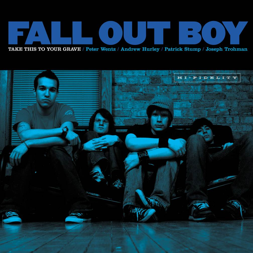 Fall Out Boy - Take This To Your Grave (Silver)