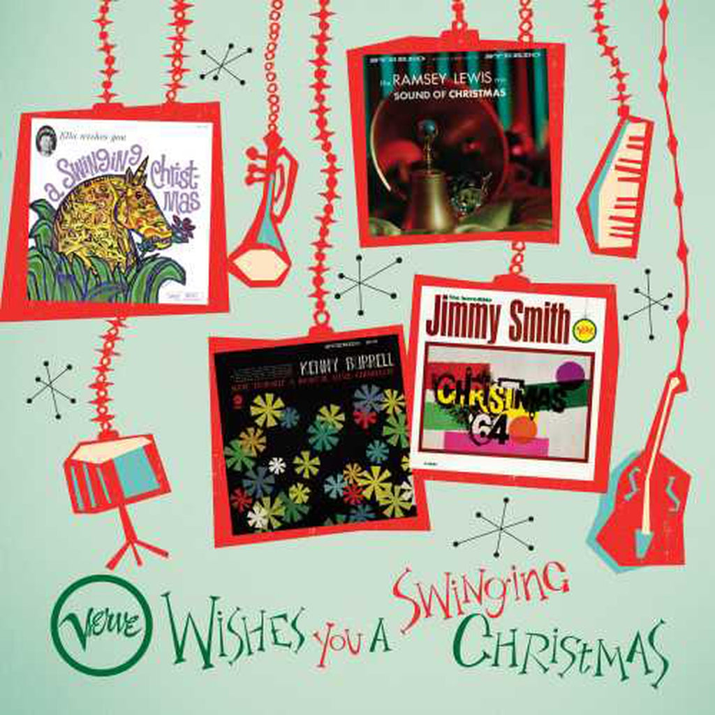 Various Artists - Verve Wishes You A Swinging Christmas (4LP)