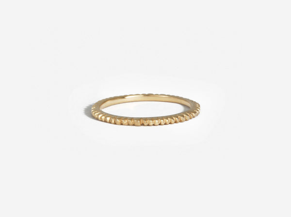 Shaesby Small Soleil Stack Ring