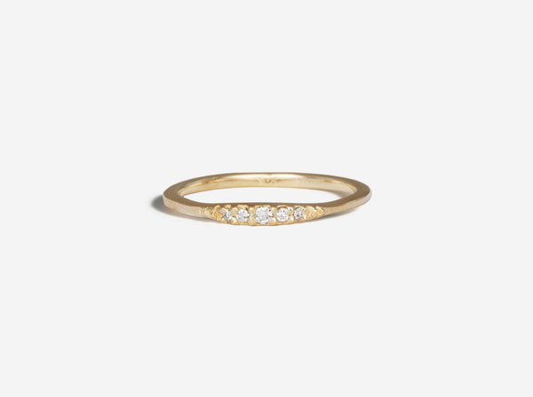 Shaesby Diamond Flamenco Stack Ring
