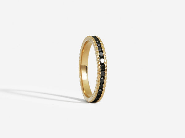 Shaesby Large Textured Infinity Band